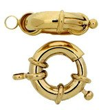 Lobster ring with one Spring ring; You will find another fitting spring ring under no 00345 14385-01-01-0r-000
