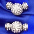 Magnetic clasp to fasten pearls up to 0,4 inches 14475-10-06-00-001