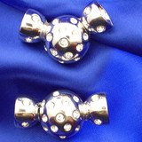 Magnetic clasp to fasten pearls up to ~  0,4 inches 14511-08-06-00-001