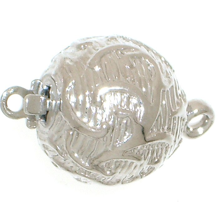 Ball clasp with ornaments