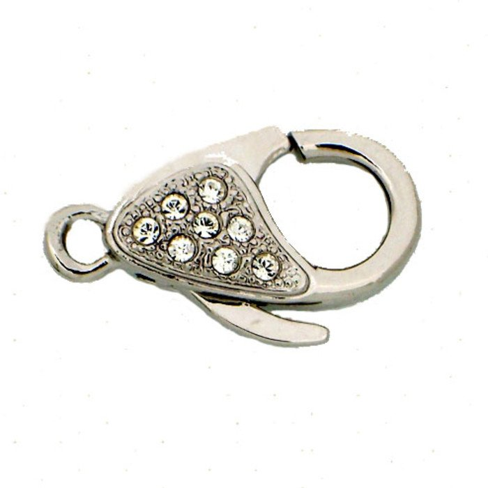 Lobster Clasp In our range You will also find a lobster ring which is a perfekt fit