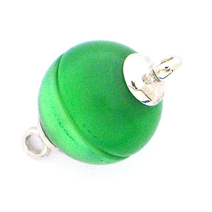 Polaris-clasp magnetic; colour: shiny green; Colour differences depending on production lots are possible.
