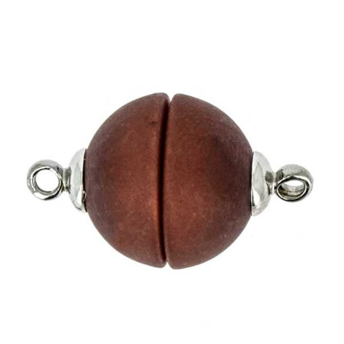 Polaris-clasp magnetic; colour: brown matt; Colour differences depending on production lots are possible.