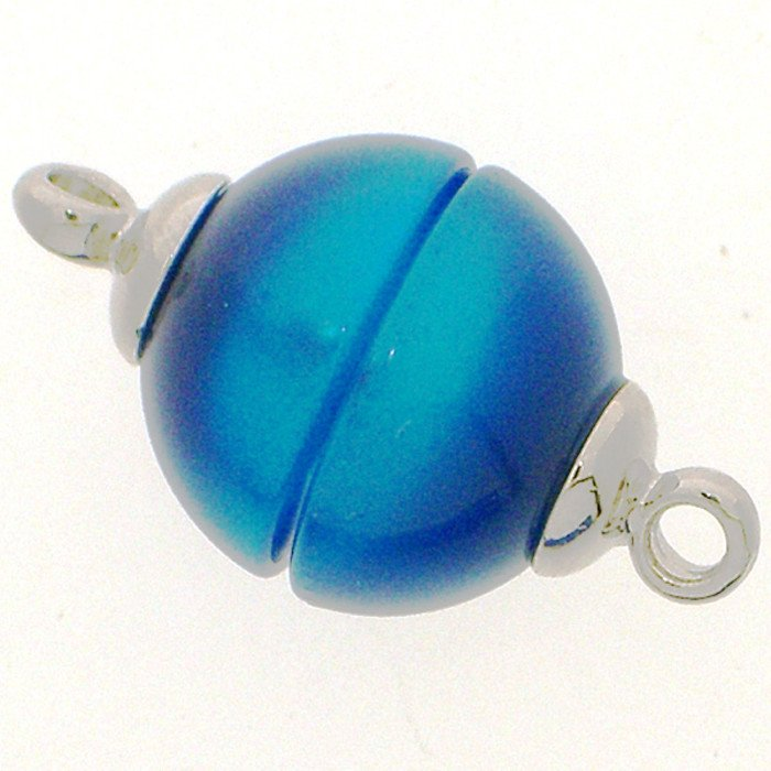 Polaris-clasp magnetic; colour: shiny blue; Colour differences depending on production lots are possible.