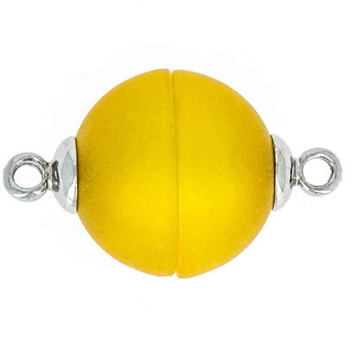 Polaris-clasp magnetic; colour: yellow matt; Colour differences depending on production lots are possible.