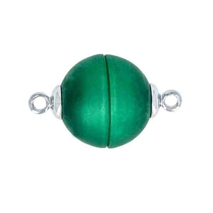 Polaris-clasp magnetic; colour: green matt; Colour differences depending on production lots are possible.