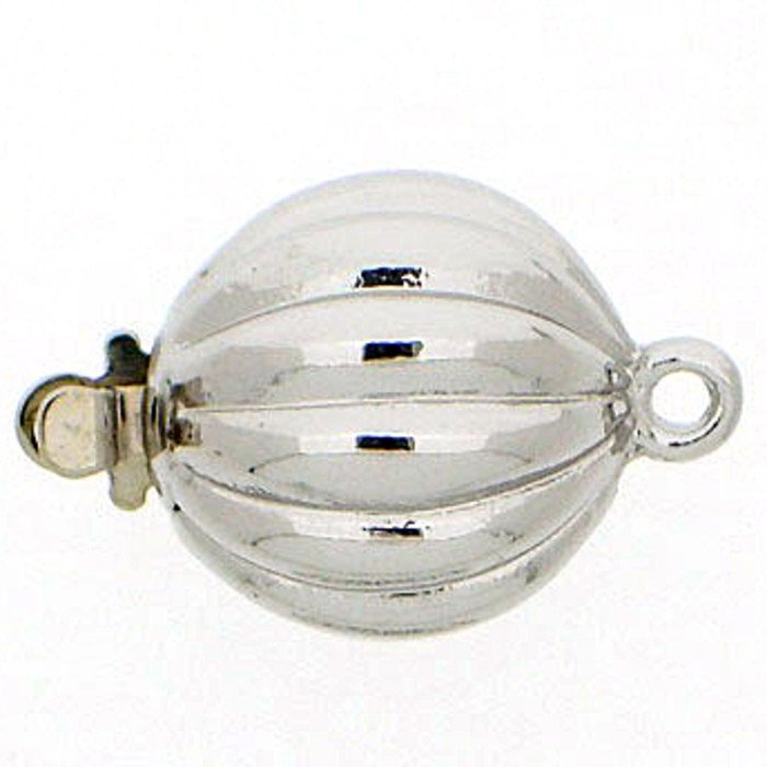 Ball clasp with springtongue mechanism