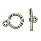 toggle clasps consists of ring and bar