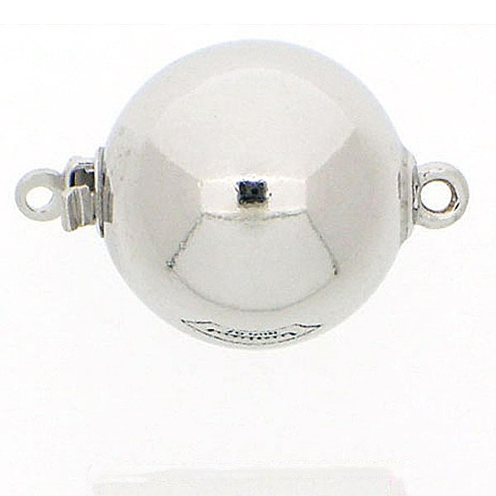 ball clasp with a smooth surface