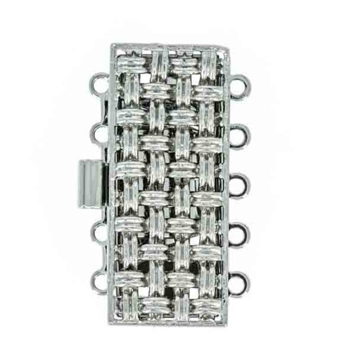 metal clasp 5 rows